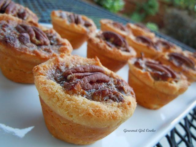 Gourmet Girl Cooks: Pecan Tassies (Mini Pecan Tarts) - Wheat/Grain ...