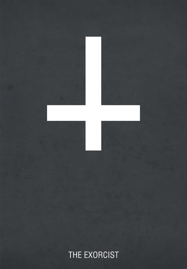 The Exorcist Minimalist Posters