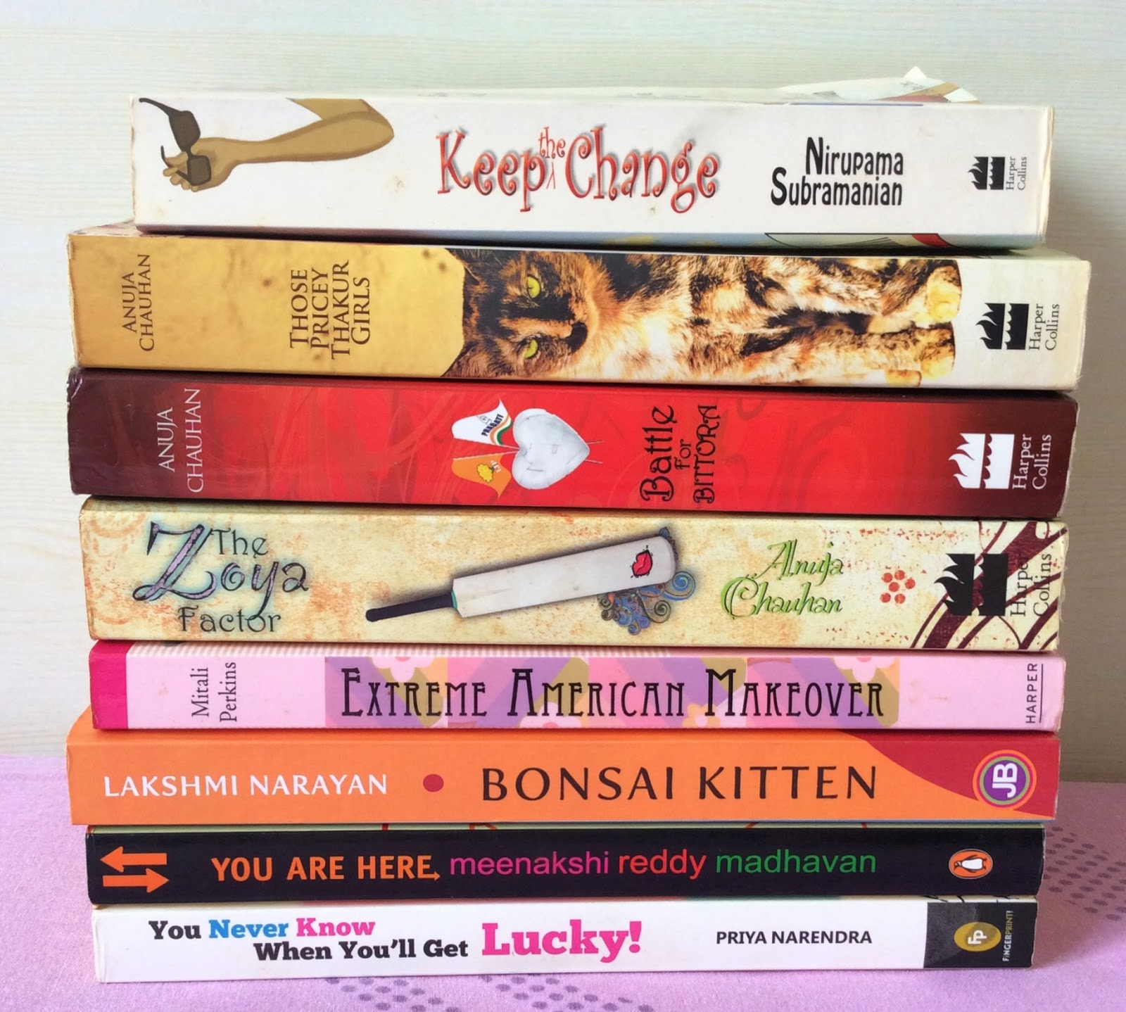 Favourite Indian Chick lit authors