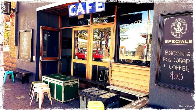 Café Manly Beach Sydney Australie, visiter Australie tourisme Sydney plage Manly