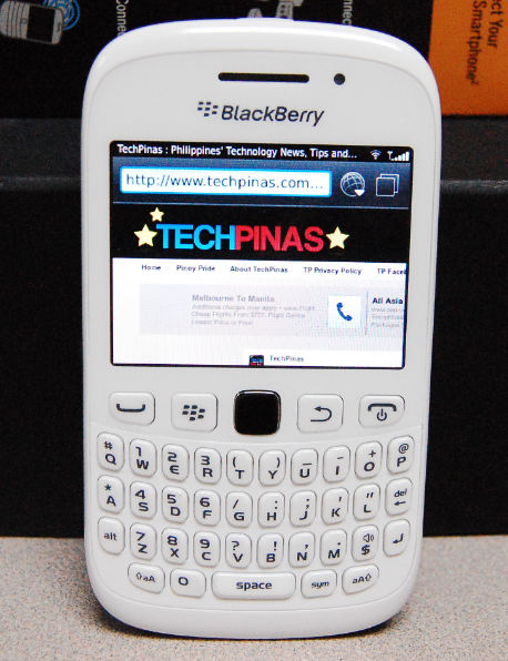 white blackberry curve 9220