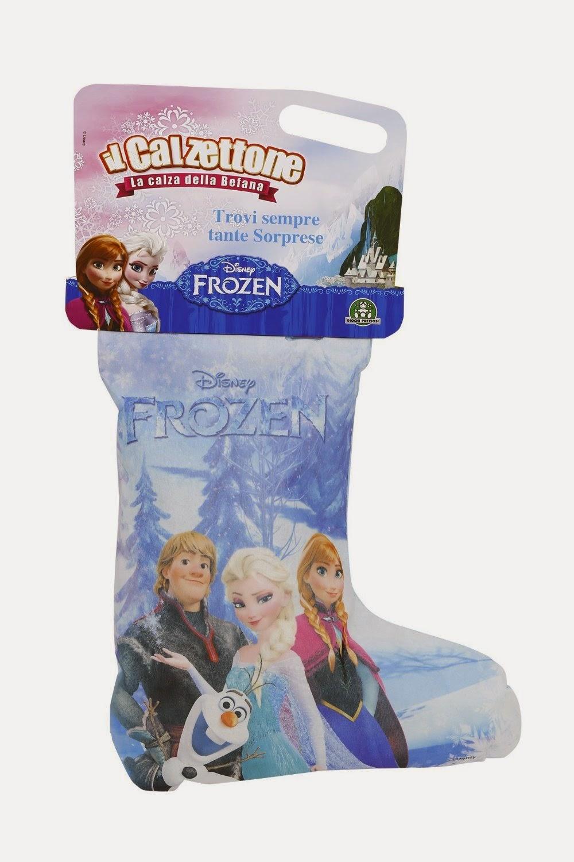 Calzettone Frozen 2015 Giocattoli Befana Giochi Preziosi prezzo contenuto calza con sorprese