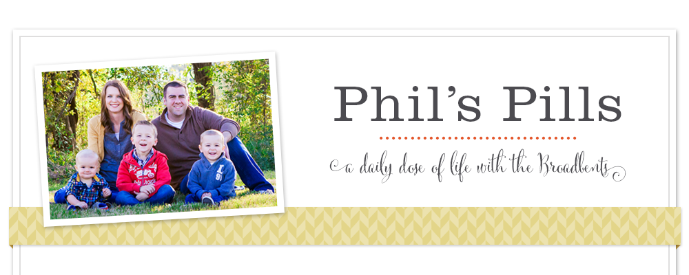 Phil's Pills - Blog Style
