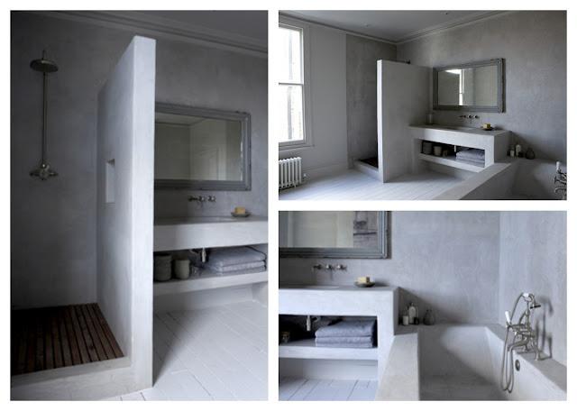 Tinas De Baño De Concreto:Baños de concreto pulido