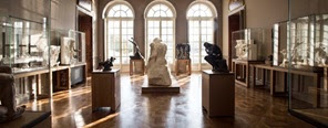 Rodin Museum showing Rodin sculptures