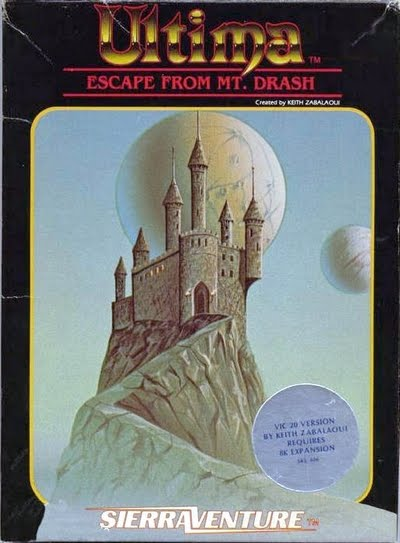 Escape from Mt. Drash Box Art