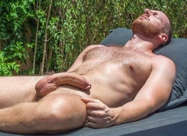 Verga de macho musculoso