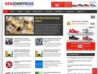 New Jonny Wuss Seo Template Fast Loading