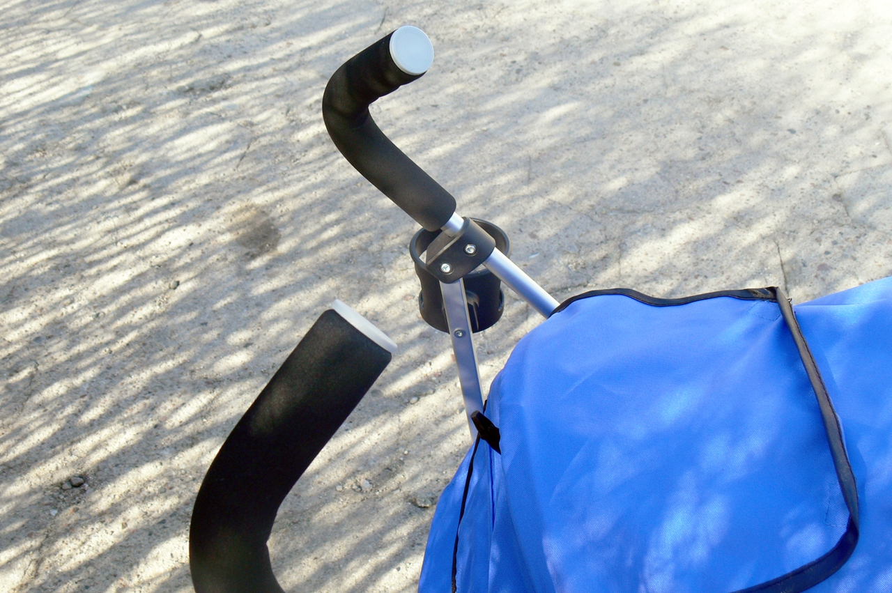 wózek Caretero Gringo rączki