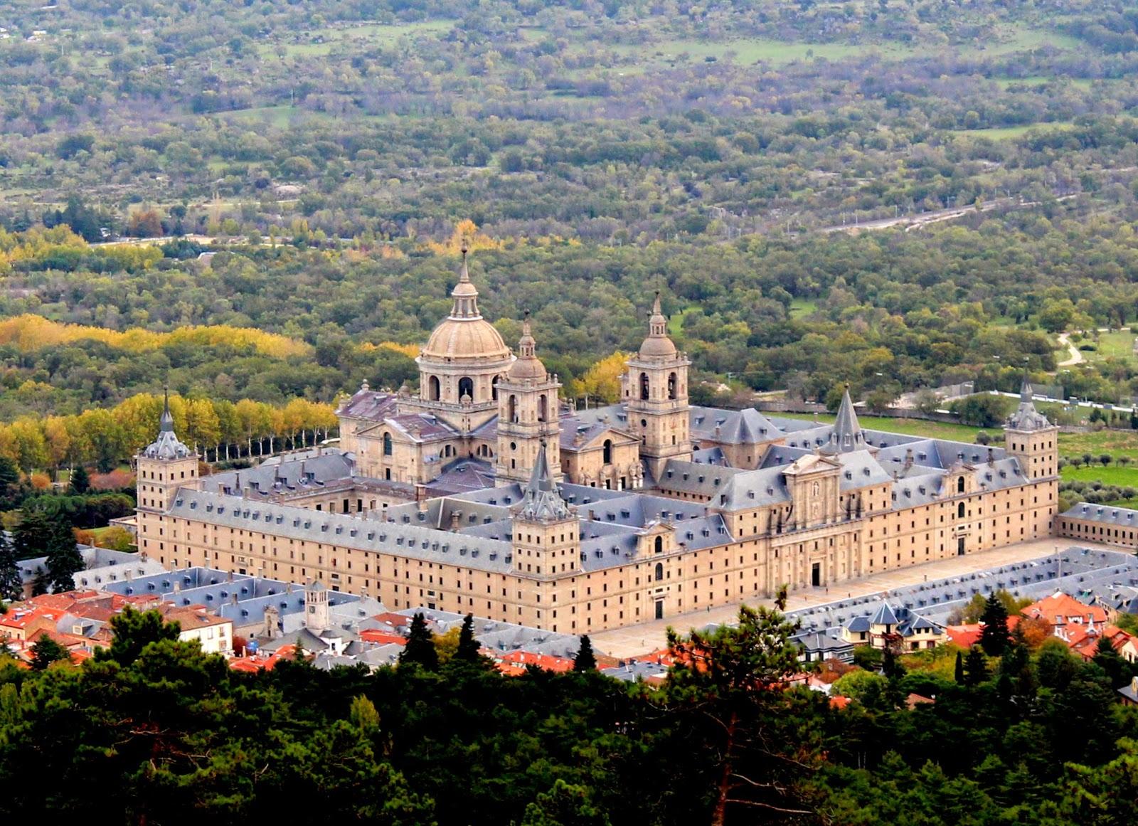 Monasterio de San Lorenzo de El Escorial desde el Monte de Abantos