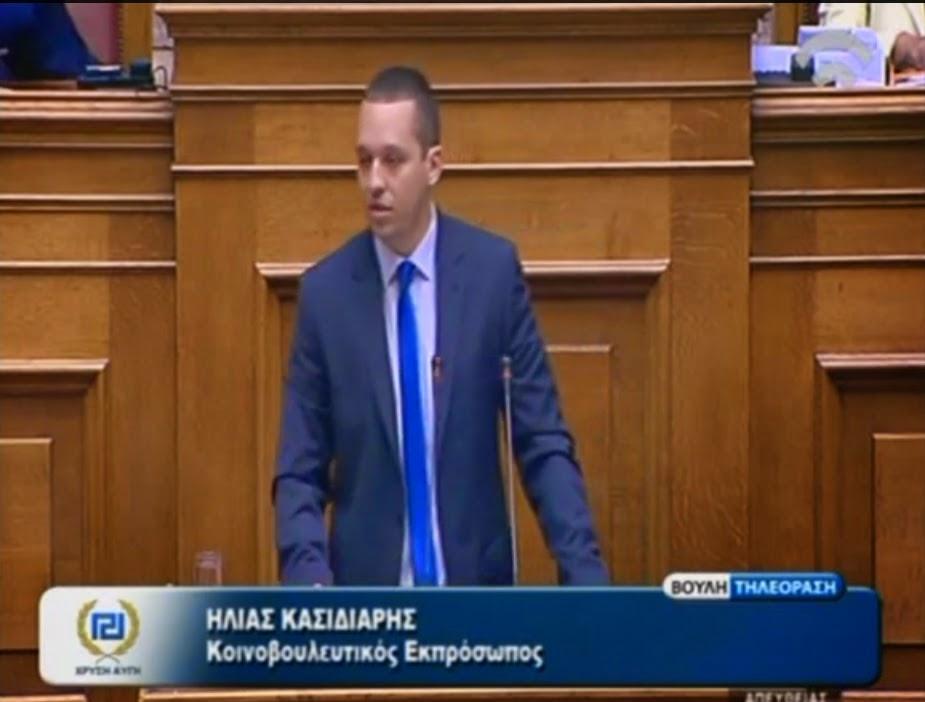Ηλίας Κασιδιάρης :Όχι στο ξεπούλημα της ΔΕΗ - Δημοψήφισμα τώρα! ΒΙΝΤΕΟ