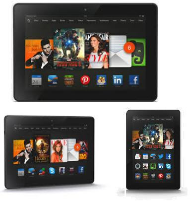 Amazon Fire HDX 8.9 (2014) vs Kindle Fire HDX 8.9 (2013) Specs Comparison