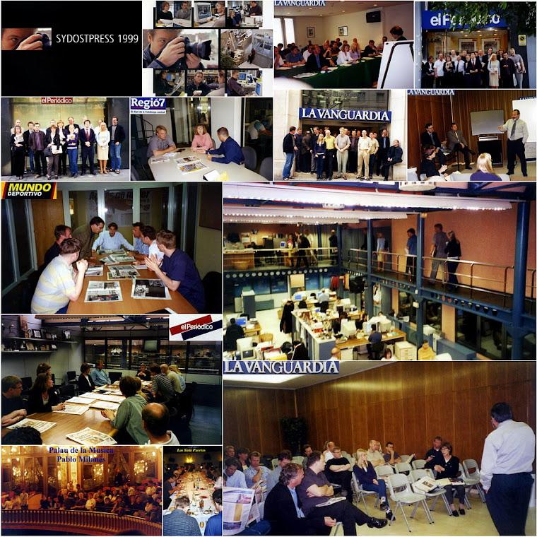 Sydostpress Överkursens resa till Barcelona