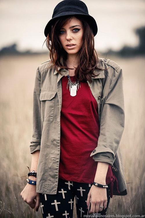 Moda invierno 2013 de Scombro Jeans Argentina