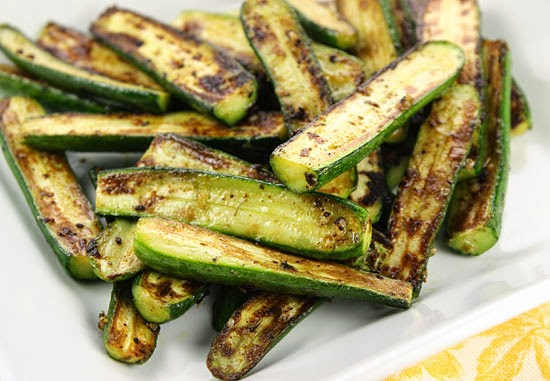Serve these baked zucchini sticks as an appetizer or as a side dish