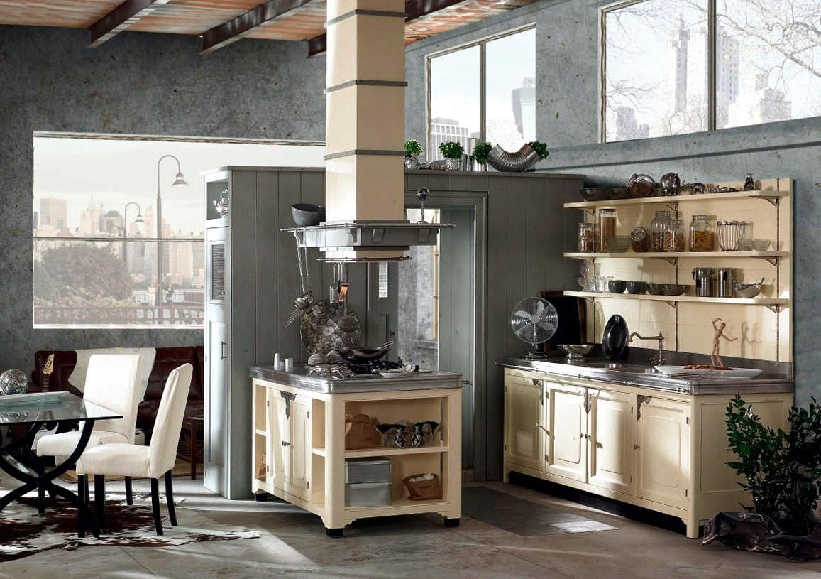 Deco cocinas vintage actualizadas decoraci n - Marchi group cucine ...