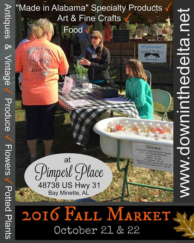 "Shop with us this Fall at ""Down In The Delta Vinatge Show"""