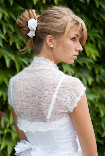 Sweterek ślubny