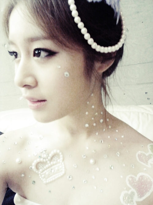 "Park Jiyeon T-ARA ""The Queen"""