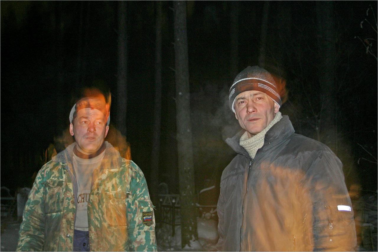 Повторный выезд в Шабровский район.