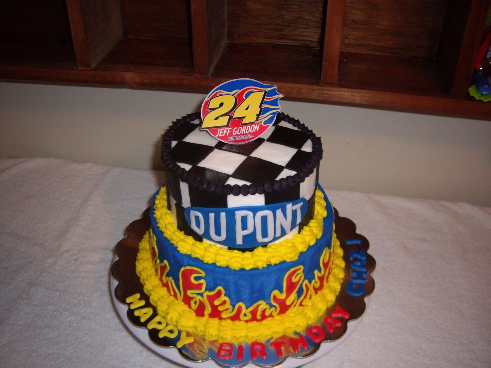 Custom Cakes By Christy Jeff Gordon Nascar Birthday Cake