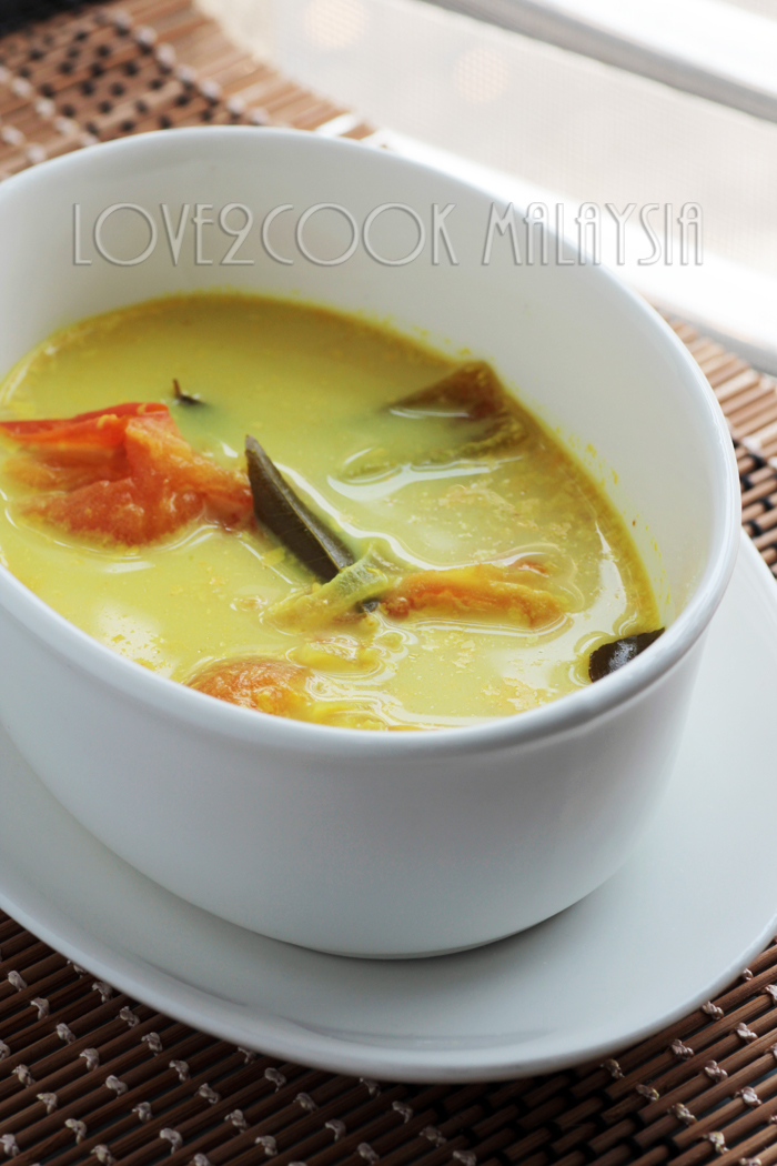 love2cook malaysia sothi recipe indian style mild yellow ingredients forumfinder Image collections