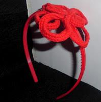 Diadema de ganchillo o crochet