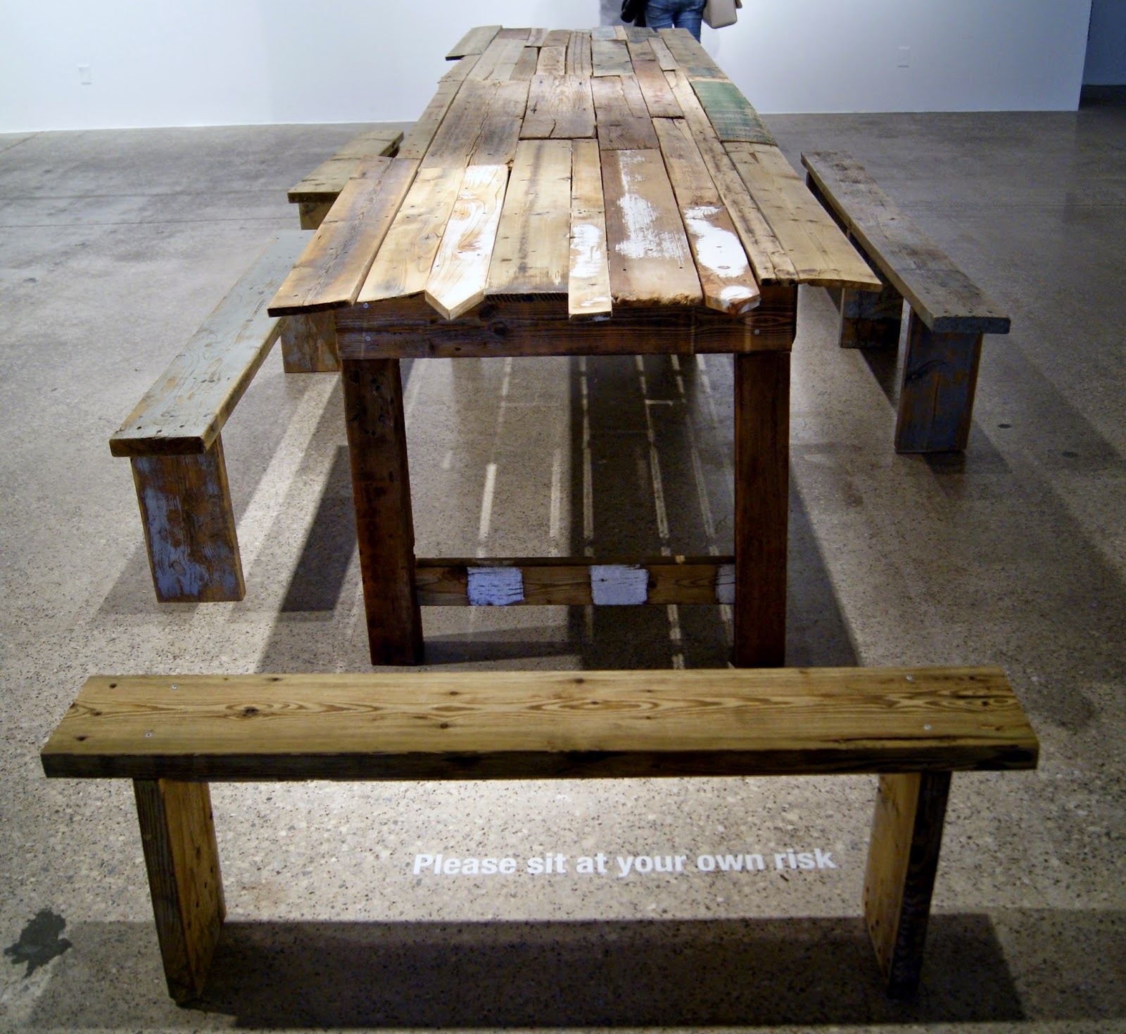 TBD Exhibit at MOCCA: Fences Will Turn Into Tables, Maggie Groat, Culture, Artmatters, Contemporary, Museum, Exhibition, Toronto, Ontario, Canada, The Purple Scarf, Melanie.Ps
