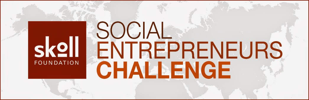 Logo of the Skoll Foundation's Social Entrepreneurs Challenge.