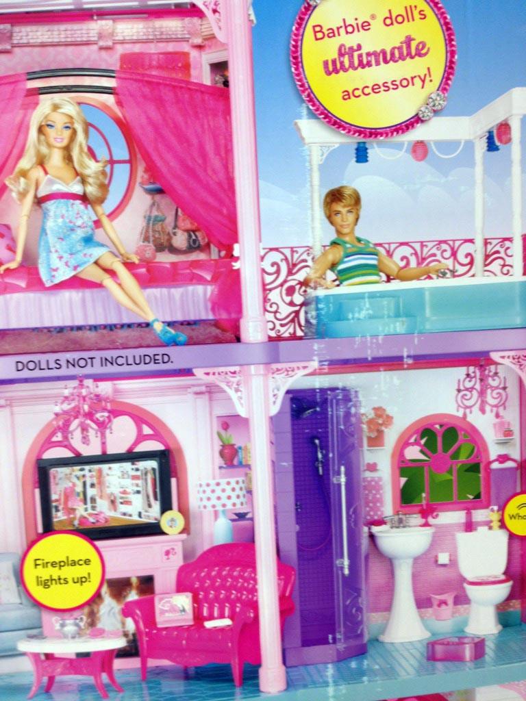 Saturday Morning Toyz: Barbie Three Story Dream Townhouse