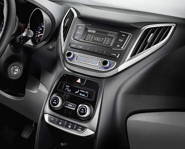 Novo Hyundai Hb20S 2016 - interior - central multimidia