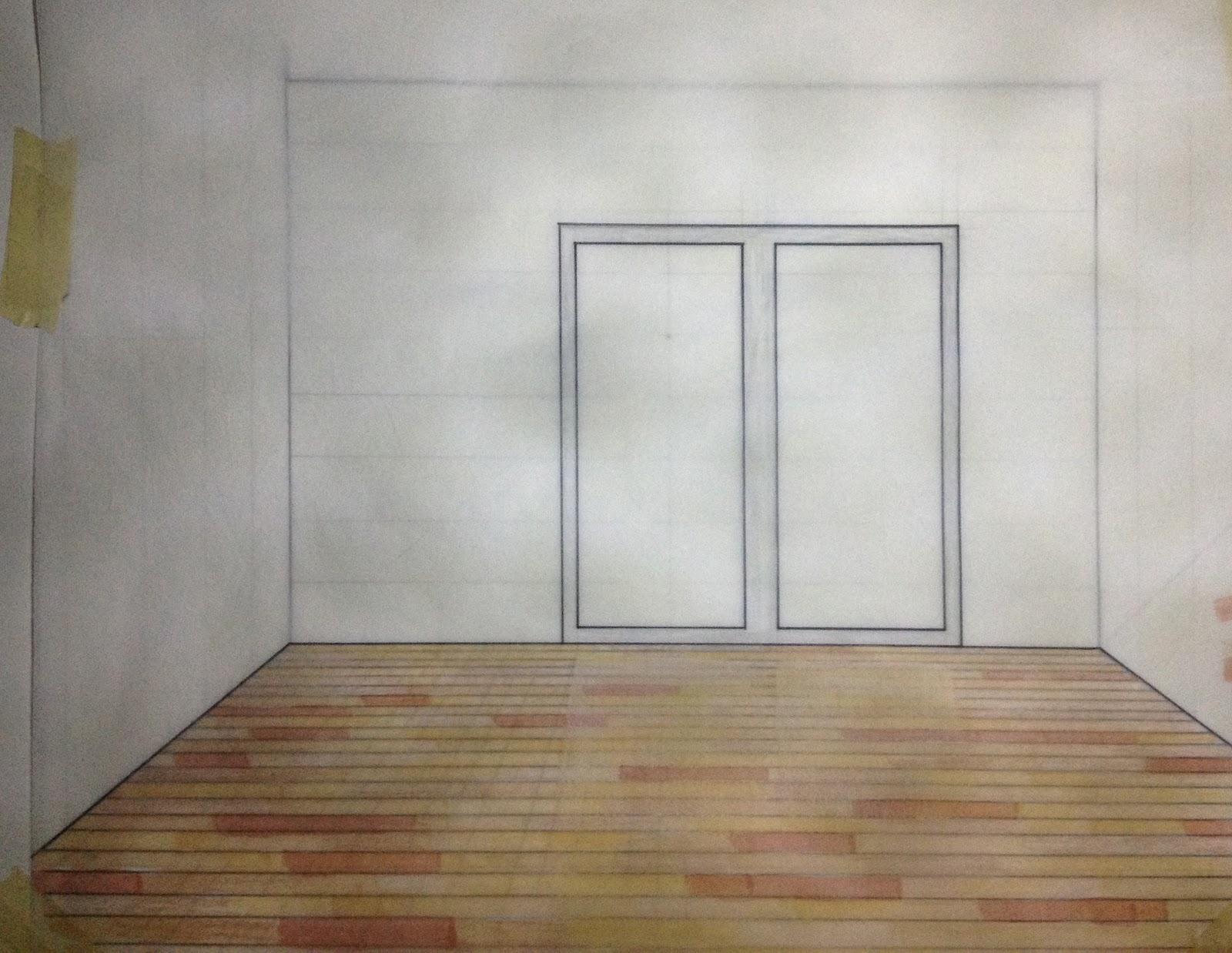 Uris g wood floor for Floor drawing