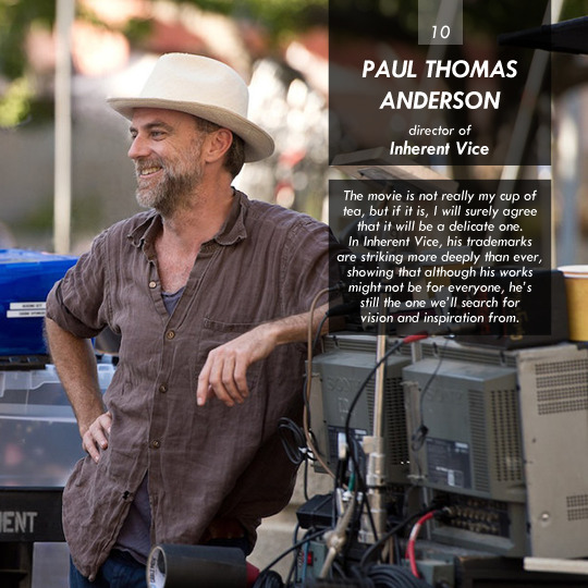 Paul Thomas Anderson (Inherent Vice)