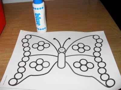 borboleta,Coordenação Motora,coordenação motora fina,brincar,educação infantil,crianças, educação física
