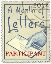 """A month of letters"" - The Challenge"