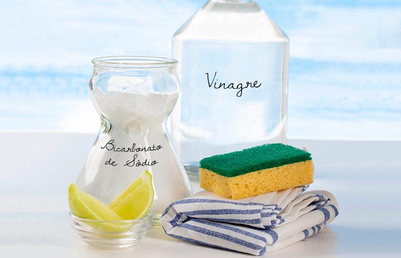 VInagre + água = amor eterno!
