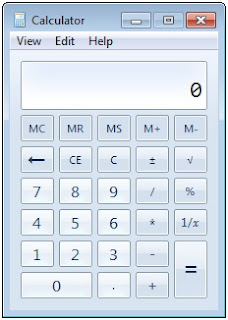 calculator windows 7