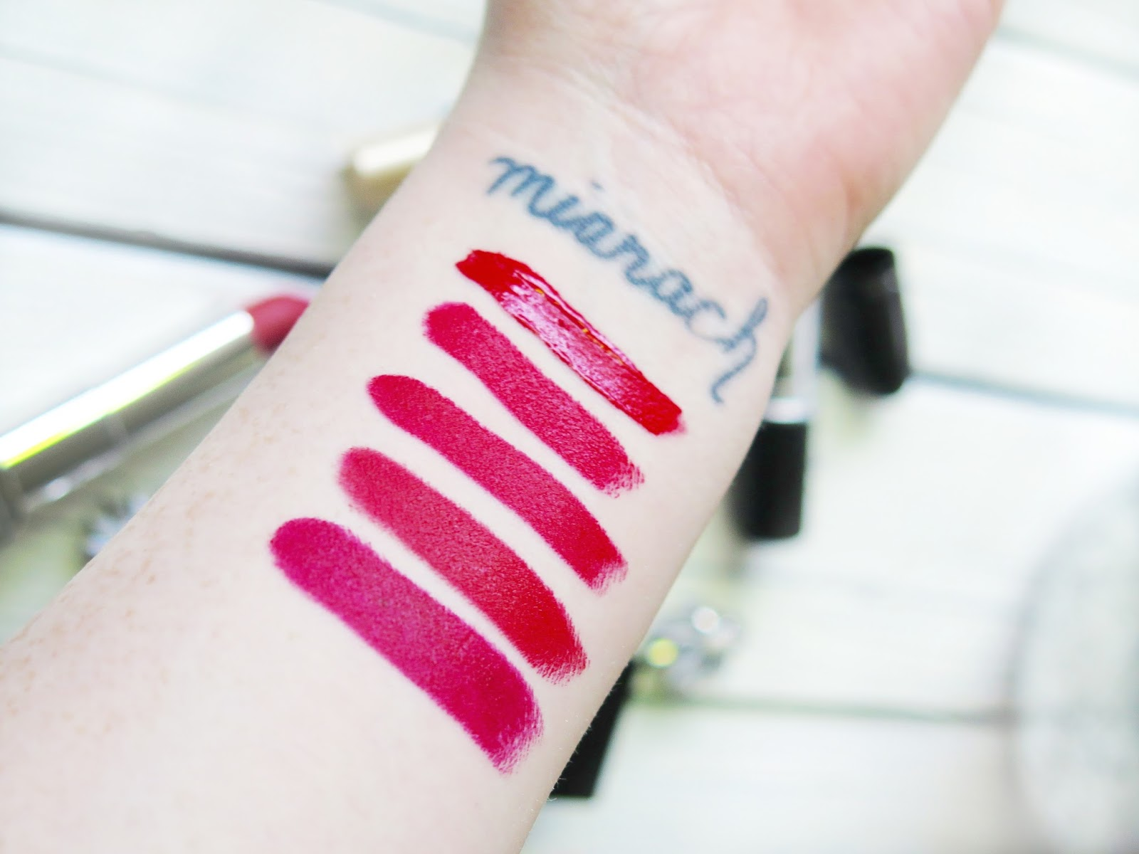 The Best Red Lipsticks For The Holiday Season - Bold Red Lipsticks from Stila, MAC, NARS, Marc Jacobs and Maybelline