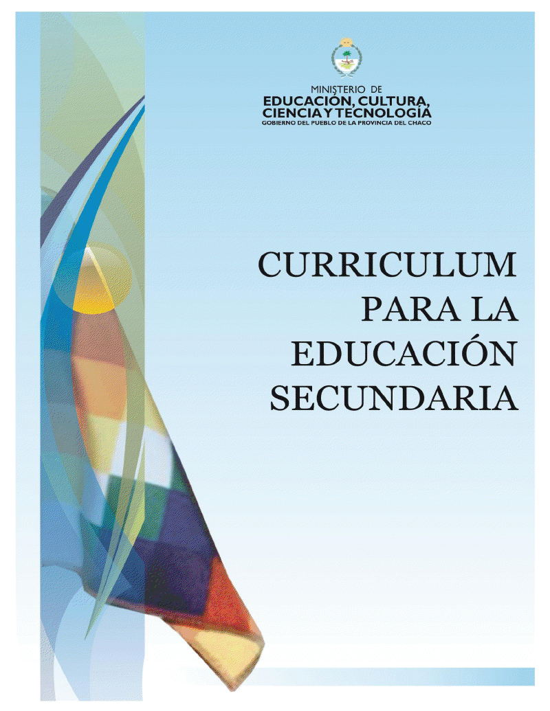Direcci n de nivel secundario curriculum para la for Curriculum de nivel inicial