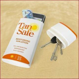 Un buen escondite para tus efectos de valor en la playa