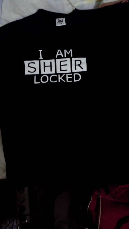 Camiseta - I am SHER-locked