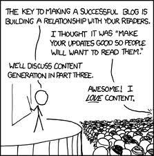Blogger exitoso
