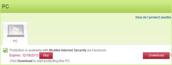 Download McAfee Internet Security Free for 6 Months [Giveaway]