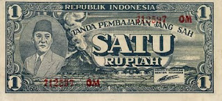 uang satu rupiah jaman dulu