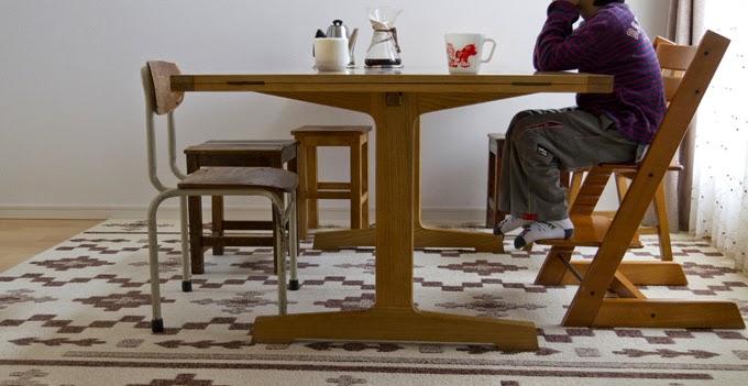 ヴィンテージ エクステンションダイニングテーブル デンマーク
