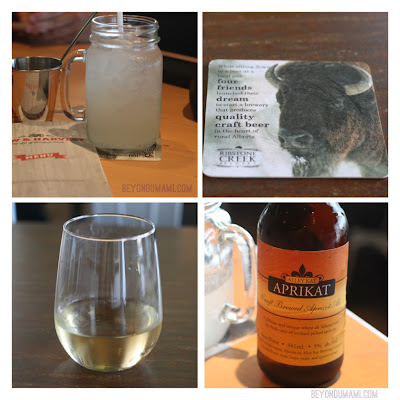 local brews and wines at P&H