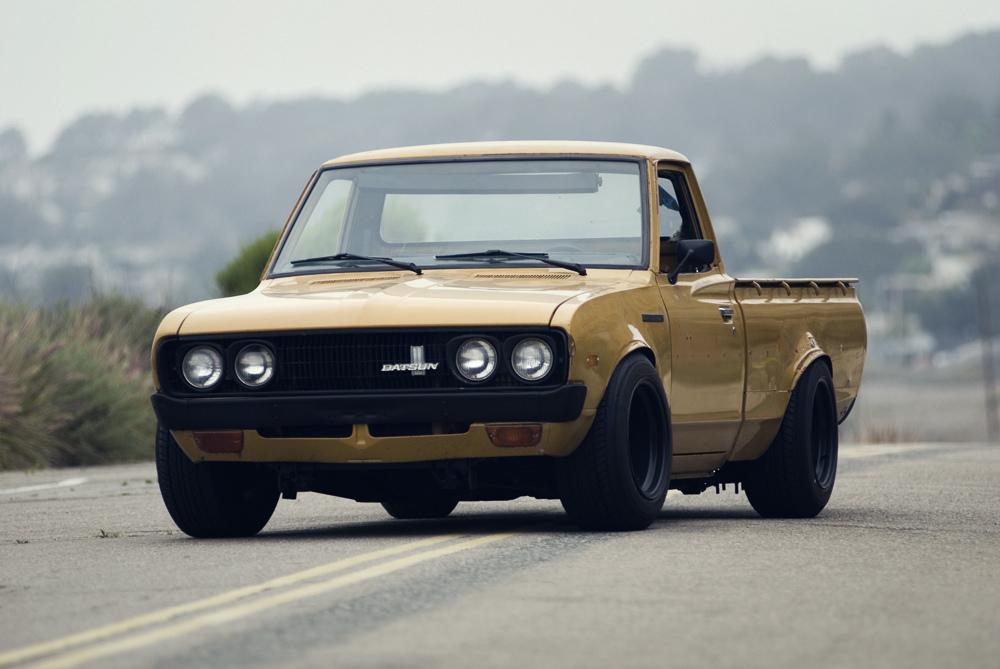 Datsun 620, pick up, tuning, JDM, japońskie samochody, mało znane