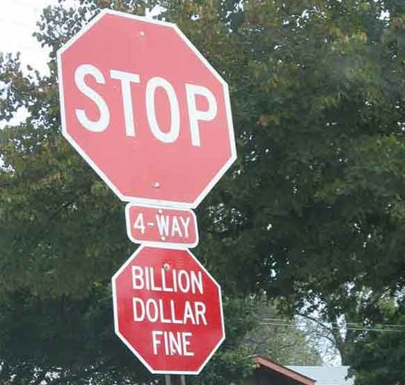 funny stop signs, hacked signs