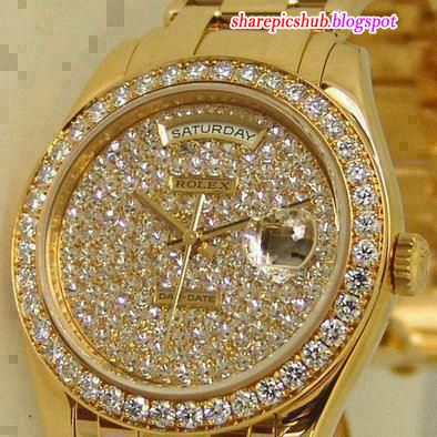 All Gold Diamond Rolex For Females