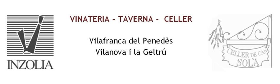 INZOLIA vinateries, tavernes, cellers